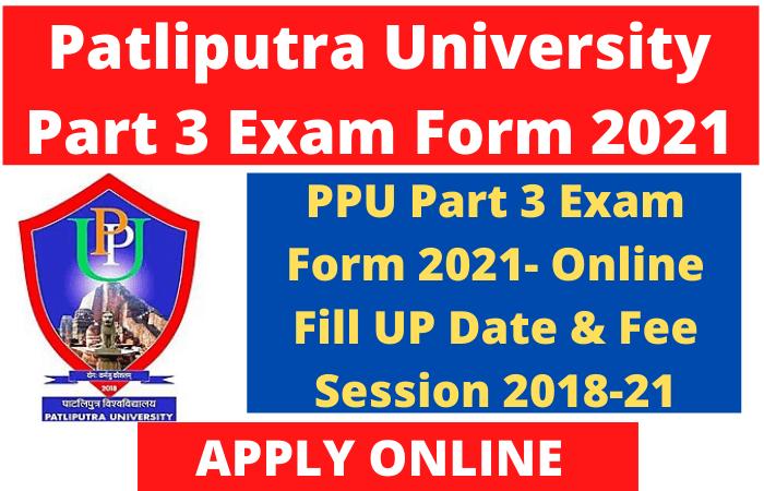 PPU Part 3 Exam Form 2021