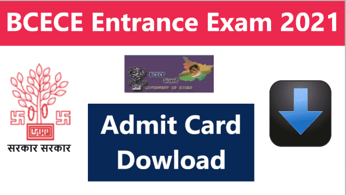 Bihar BCECE Admit Card 2021